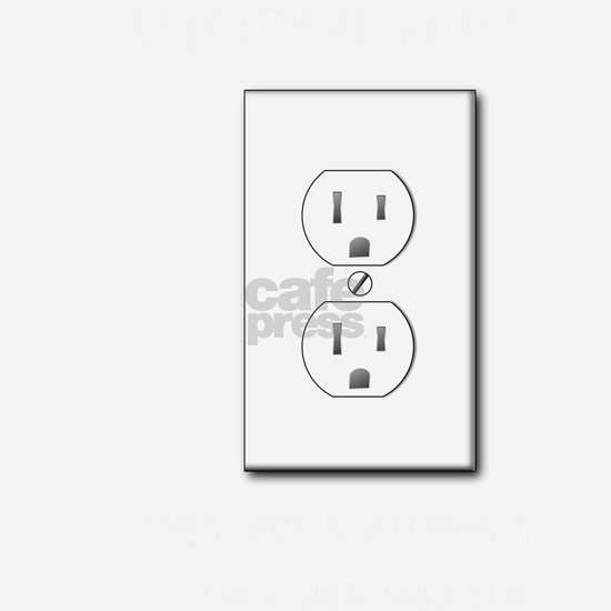 Electrician The Electrical Outlets Saw You and The