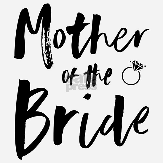 Womens Pink Mother Of The Bride Bridal Party wife