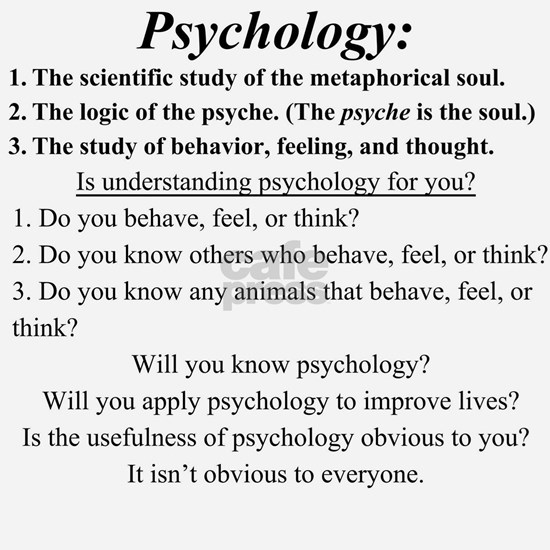 Psychology Explained