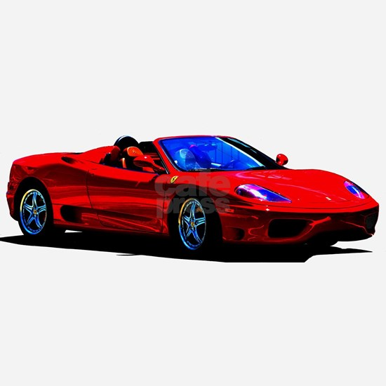 Red Ferrari Exotic Car Mylar Balloon By Beachbumpics Cafepress