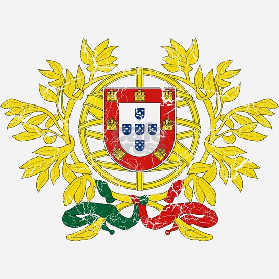 Portugal Coat of Arms cracle