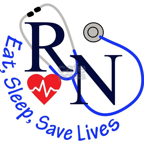 RN eat, sleep, save lives