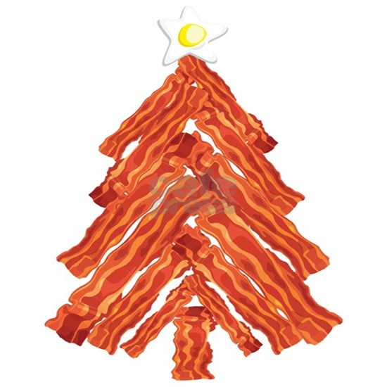 Bacon Christmas Tree