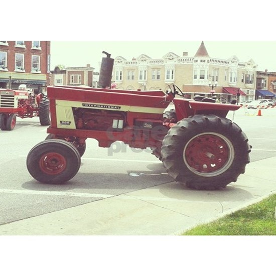 Tractor on the Town Square
