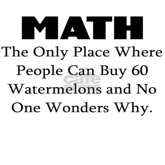 MATH THE ONLY PLACE WHERE PEOPLE CAN BUY 60 WATERM