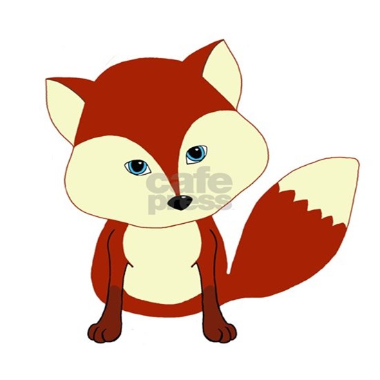 Cute Woodland Red Fox