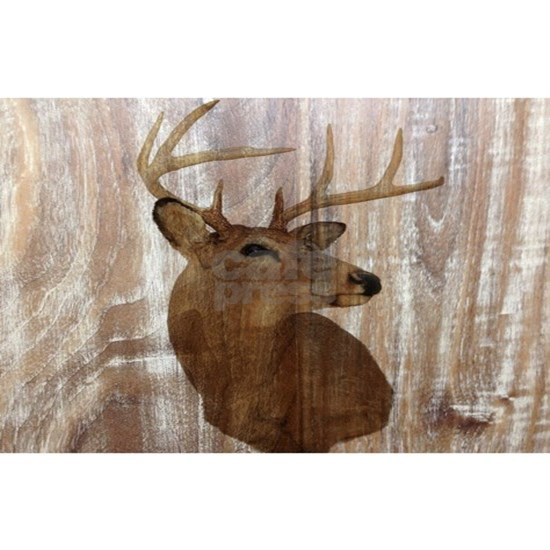 rustic western country deer