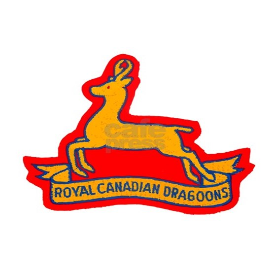Royal Canadian Dragoons Hitch Cover