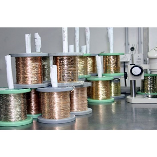 Gold wires for jewellery manufacture