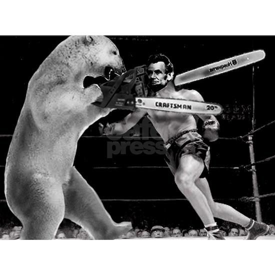 Abe Lincoln vs Polar Bear