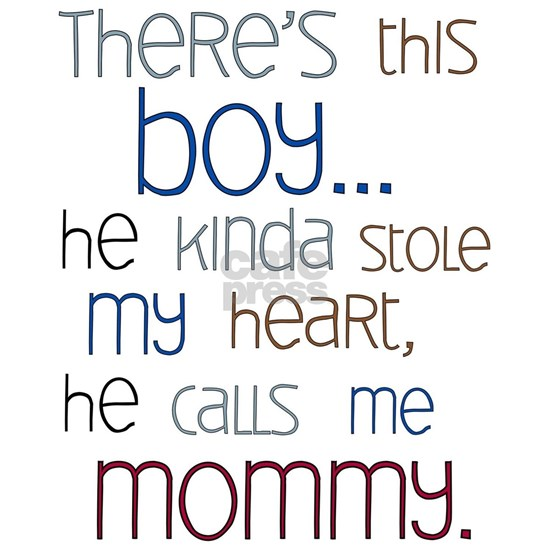 Baby Boy Quote for Mom Picture Frame