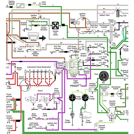 triumph spitfire wiring schematic 1975 triumph spitfire wiring diagram picture frame by surgedesigns  1975 triumph spitfire wiring diagram
