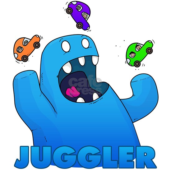 Monster juggler
