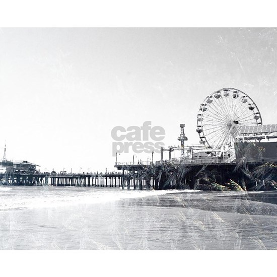 Frosted Santa Monica Pier
