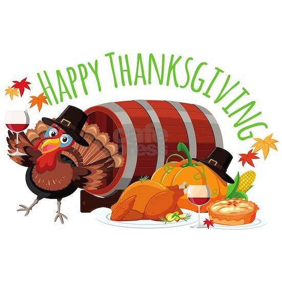 happy thanksgiving drunk turkey picture frame by glitterhollywood -  cafepress  cafepress