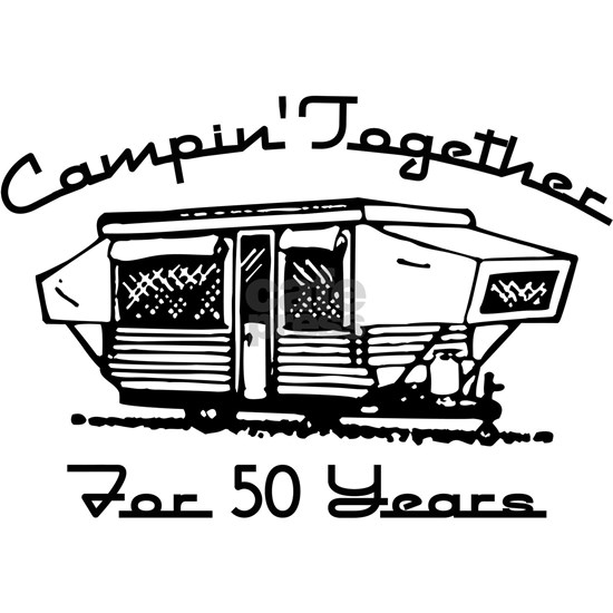 Camping Together 50 Years