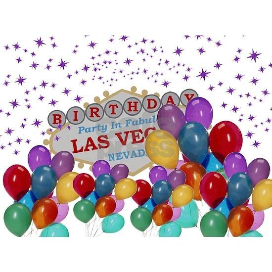 Floating Balloons Las Vegas Birthday Party