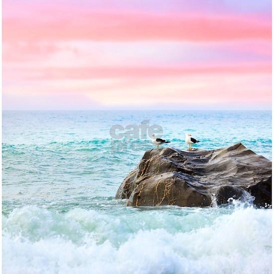 Seagulls at Sunrise