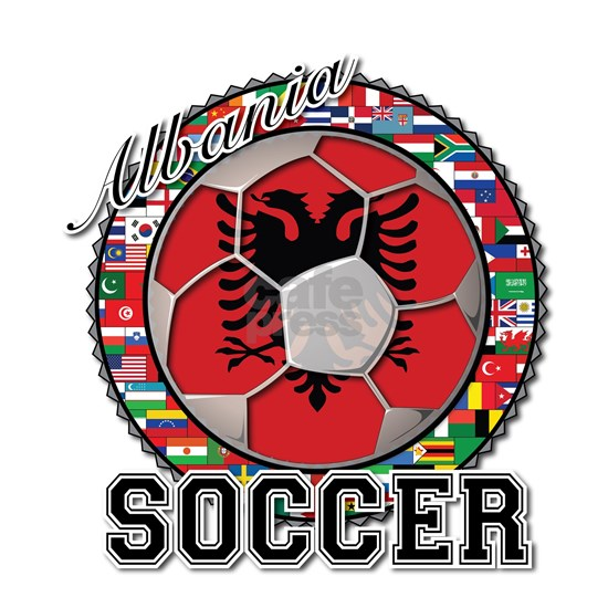 Albania Flag World Cup Soccer Ball