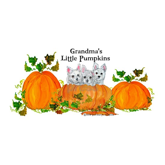2008 Grandmas little pumpkins 11x11 Large Lugg