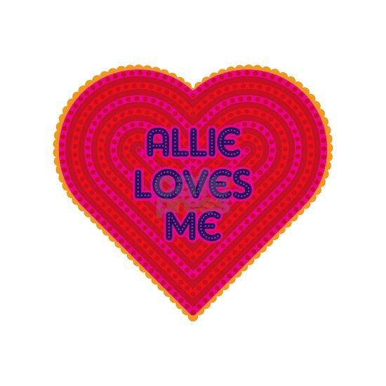 Allie Loves Me