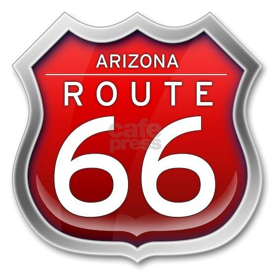 Arizona Route 66 - Red