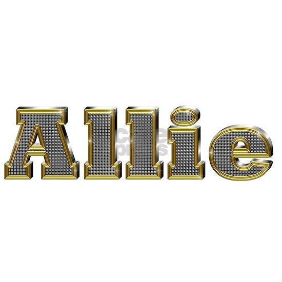 Allie Gold Diamond Bling