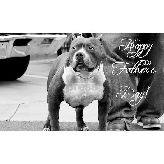 Fathers day pitbull