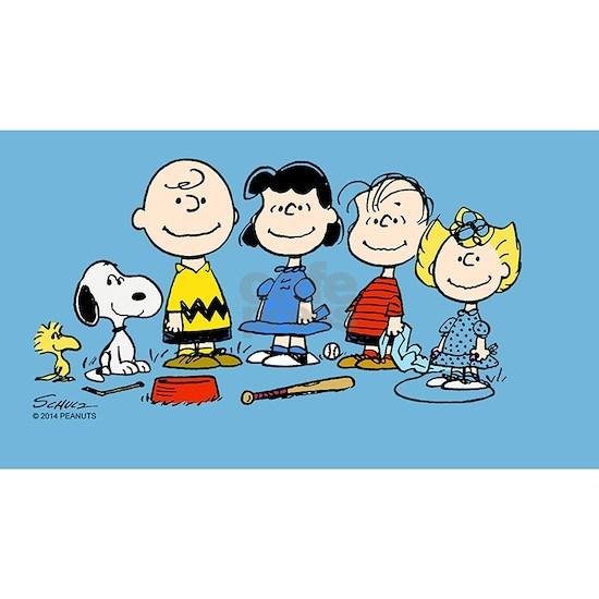 Peanuts Gang Clutch Bag
