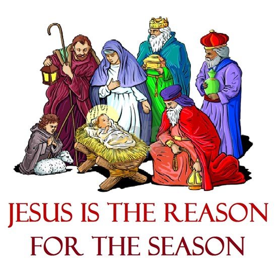 Christmas jesus is the reason