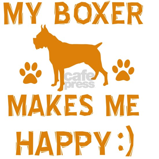 Boxer dog breed designs