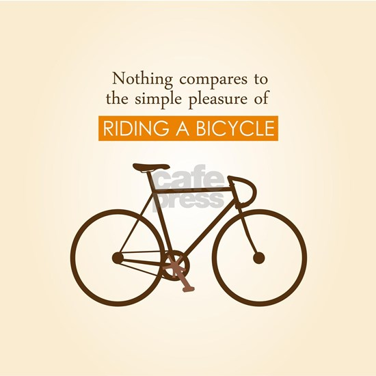 The Pleasure Of Riding A Bicycle