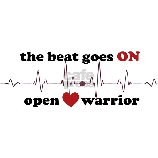 Open heart warrior