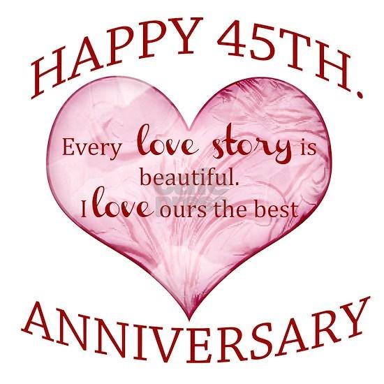 45th. Anniversary