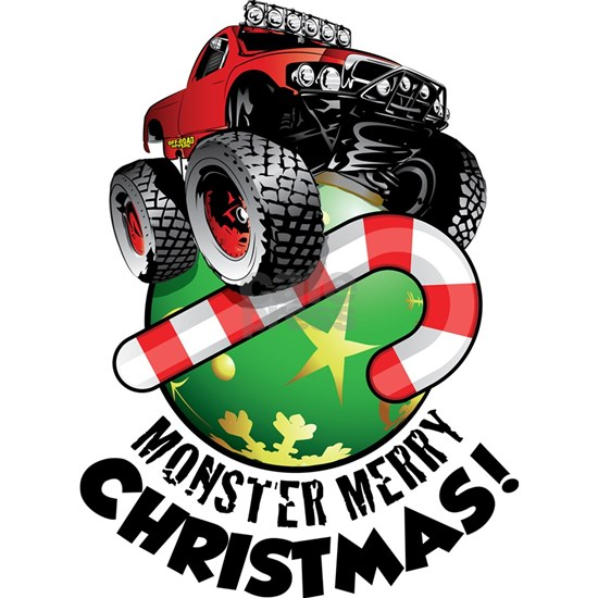 Monster Truck Ornament