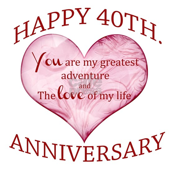 40th. Anniversary