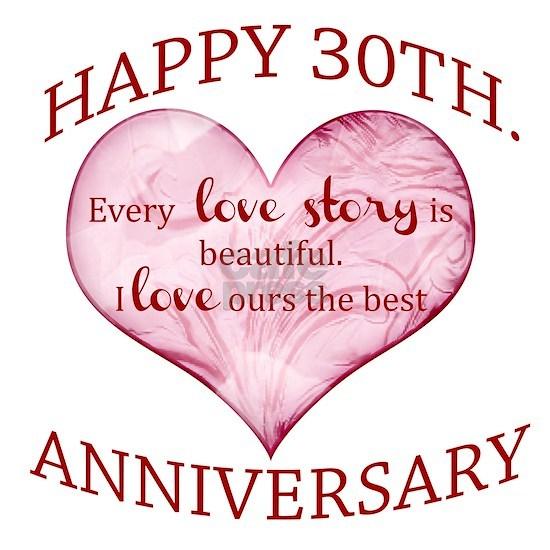 30th. Anniversary
