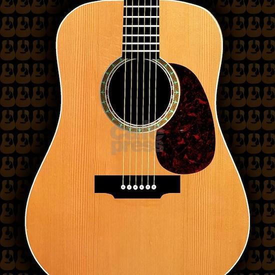 acoustic-guitar-framed panel print copy