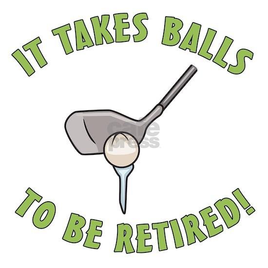 Funny Golfing Retirement