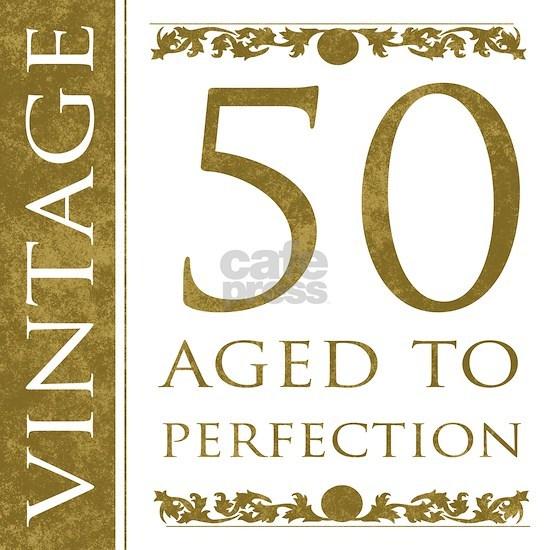 Fancy Vintage 50th Birthday