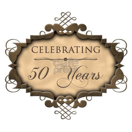 50th Wedding Aniversary (Rustic)