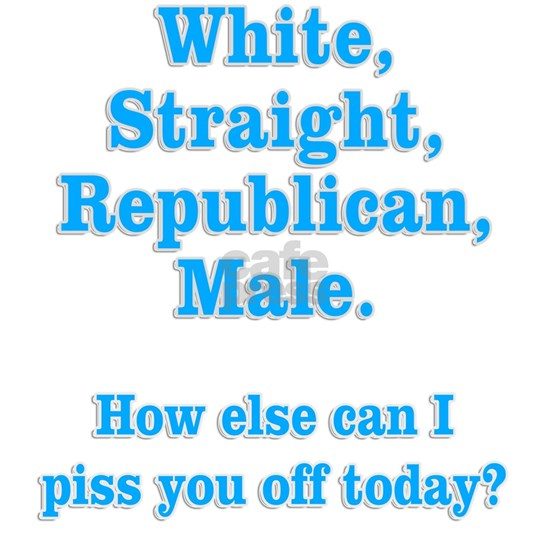White Straight Republican Male