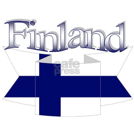 Finland flag ribbon
