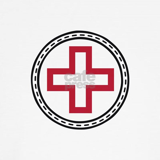 Circled Red Cross