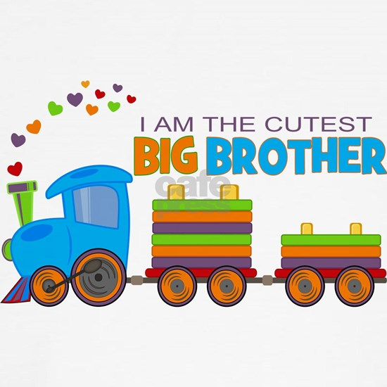 I am the Cutest Big Brother - Train