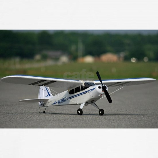 RC ADVENTURES Super Cub Airplane