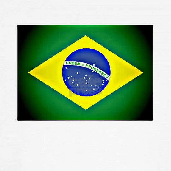 Brazilian flag black fade