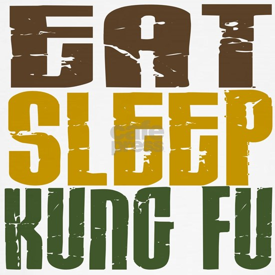 Eat Sleep Kung Fu 1 T
