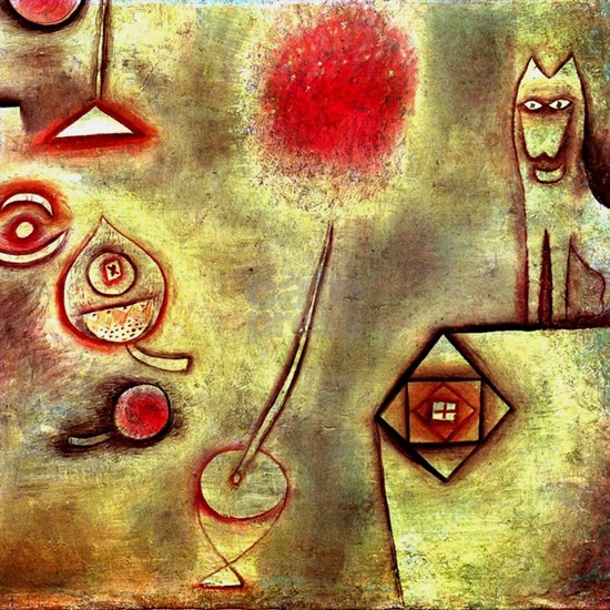 Klee - Still Life with Animal Statuette