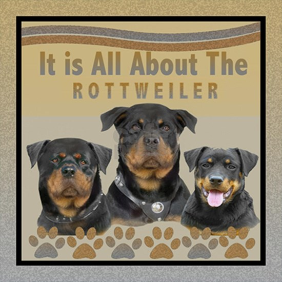 All About The Rottweiler Tile